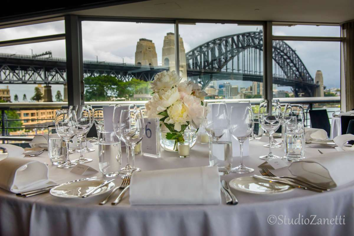 Quay restaurant wedding