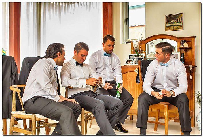 Unique Style Groom Wedding Photos