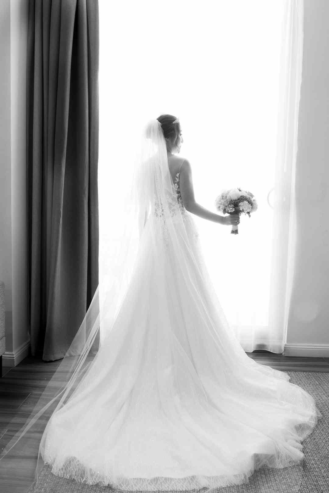 photo of bride