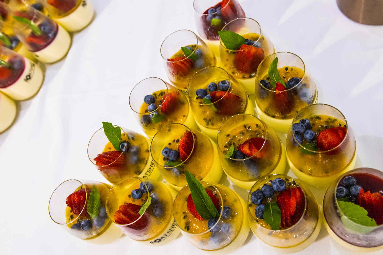 dessert at wedding