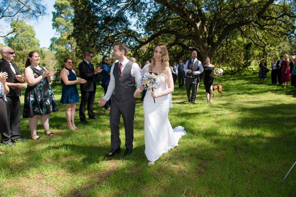 centennial park wedding