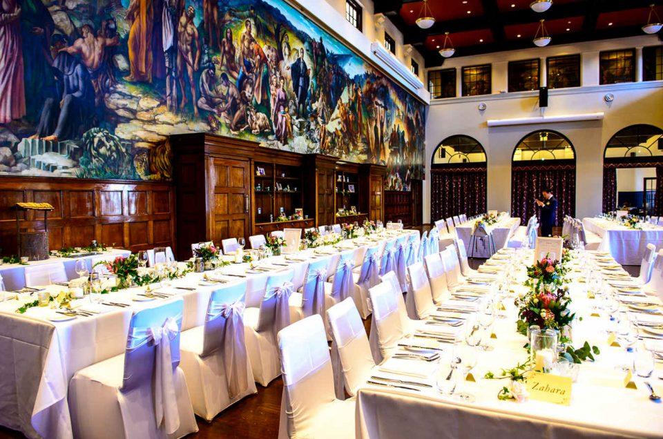 The Refectory Sydney University Wedding