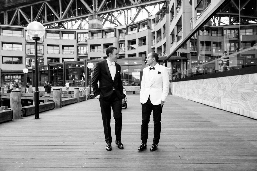 2 grooms marry at park hyatt sydney